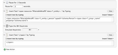 Figure 1: Macro that creates RDFa for people's names